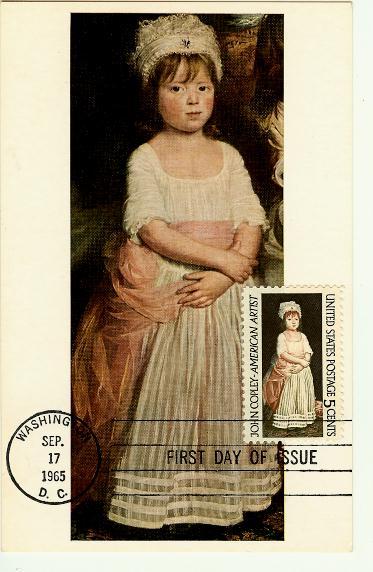 Little girl/postage